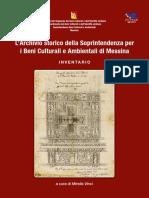 Archivio Storico Della Soprintendenza Di Messina