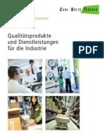 Carl Nolte Technik - Dienstleistungen und Produkte