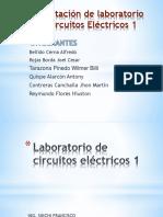 Sustentación de laboratorio de Circuitos Eléctricos 1.pptx