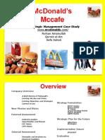 McDonalds Final PowerPoint