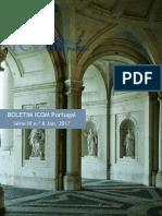 Boletim ICOM Portugal 8 Jan 2017