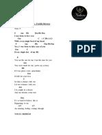 11 - Sa¡da dos Noivos - I was born to love you - Freddie Mercury.pdf