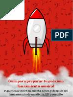 PDF Guia Para Preparar Tu Proximo Lanzamiento Musical