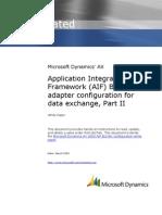 AIF BizTalk Adapter Configuration for Data Exchange Part II