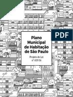 Projeto de Lei - Plano Municipal de Habitação