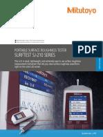 Mitutoyo - Chropowatościomierz Surftest SJ-210 Seria - 2194 - 2015 EN9