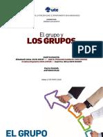 LOS GRUPOS 5TA Grupo de Elizabeth Quinta de Dinamica 2