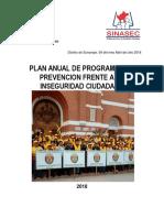 Plan de Programas de Prevencion Jvsc