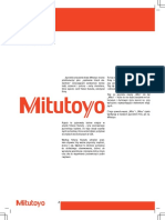 Mitutoyo - Katalog PL-16001