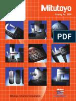 Mitutoyo - Katalog USA-2004