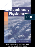Cardiopulmonary Physiotherapy
