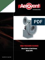 pressure-blowers-radial-blade-high-pressure-blower-(model-hpb)---catalog-912.pdf