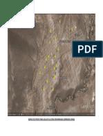 Mapa de 20 Posos Para Agua en La Zona Denominada Quebrada Honda