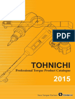 Tohnichi - Katalog 2015 EN