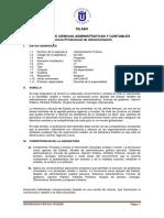 AC-601 - Administración Pública - Administración