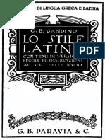 Gandino - Lo stile latino.pdf