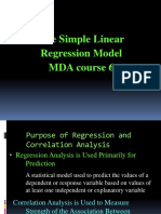 COURSE 6 ECONOMETRICS 2009 regression.ppt