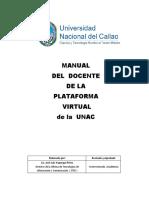 Manual Del Docente de La Plataforma Virtual