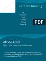 Final Career Planning