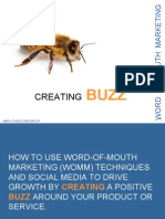 word of mouth marketing techniques