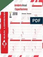 Calendario Anual de Capacitaciones