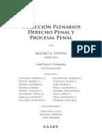 FALLOS PLENARIOS DERECHO PENAL Y PROCESAL PENAL
