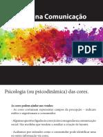Estudo e aplicação de cores na comunicação social