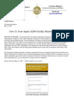 Facility Master Plan Survery 05112018