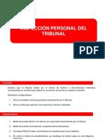 La Inspección Personal del Tribunal en Derecho Procesal Chileno