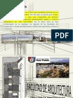 Análisis de Facultad de Arquitectura