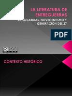 LA LITERATURA DE ENTREGUERRAS.pptx