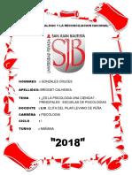 Monografia de Brigget Psicologia