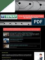 Apresentação de introdução as tecnologias de fabricação digital