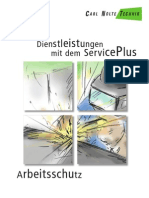 Dienstleistungen mit dem Service Plus