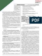 Resolución Ministerial N° 113-2018-PCM