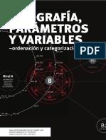 Tipografia, Parametros y Variables