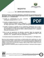 Requisitos Para Personas Naturales Para Solicitar El Nit de Importador Mos11