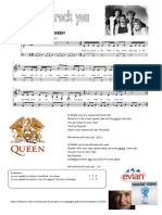 We will rock you - Melodie .pdf