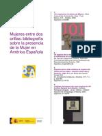 Bibliografia_mujeres en Europa y America