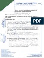 RESOLUCIÓN N° 008-2018-JDN-CPPe