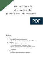 Introducción a La Problematica Del Mundo Contemporaneo - Resumen