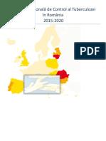 Strategia Nationala de Control Al TB 2015 2020