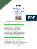 Bulletin 180515 (HTML Edition)