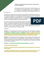 DECRETO 90_1993 q Asigna Funciones a Organos Administrativos de La JA