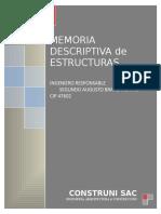 Memoria de Estructuras - Guerry Martel