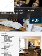 INTERNAL on the Go Training Field
