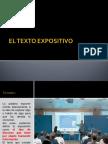 El Texto Expositivo Específico