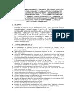 TERMINOS DE REFERENCIA ESPECIALISTA TECNICO NORMATIVO OBRA RENOVACION SISTEMA ELECTRICO Y AGUA Y DESAGUE.doc