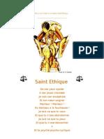 Saint Ethique