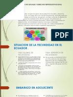 Salud Derecho Sexuales y Derechos Reproductivos en El 4